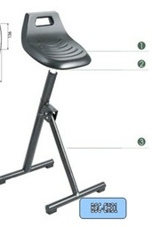 ESD SIT/ STAND CHAIR