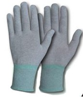 ESD GREY CARBON NON COATED GLOVES